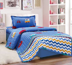 kids 3pcs compressed comforter set single size pixar cars 3