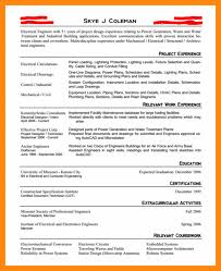 10 entry level electrical engineering resume entry level engineering resume