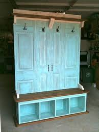 Old Door Coat Rack And Bench Enchanting 32 Pinterest Ideas For Your Old Shutters Windows And Doors