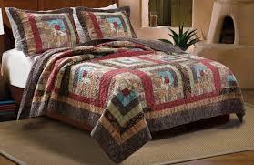 Primitive Country Quilt Rustic Bedding Set (nice Americana Quilt ... & Photo 9 of 9 Primitive Country Quilt Rustic Bedding Set (nice Americana Quilt  Set #9) Adamdwight.com