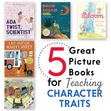 love these picture books for teaching character traits in 1st or 2nd grade