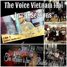 ruseasons restaurant club crezy voices vietnam idol