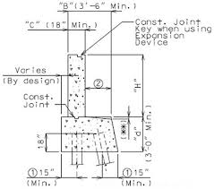 expansion joint concrete wall. typical construction joint details expansion concrete wall r