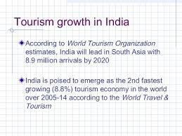 tourism tourism growth in