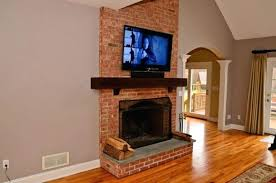 mounting tv on brick fireplace mounting over brick fireplace com mounting tv brick fireplace