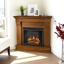 real flame 40 9 in w 4 780 btu espresso wood corner led electric fireplace with