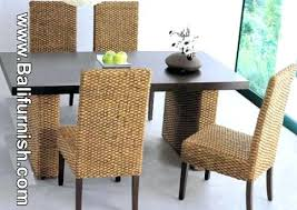 Wicker Dining Room Set Dining Room Smart Woven Dining Room Chairs Impressive Woven Dining Room Chairs