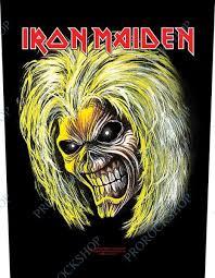 Nášivka Na Záda Zádovka Iron Maiden Killer Eddie Prorockshop