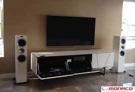 kef ls50 home theater. kef r900 white \u0026 peachtree nova 220se set up by monaco audio video authorized dealer kef ls50 home theater y