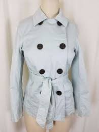 Gap 100% Cotton Canvas Belted Tie <b>Sash Button</b> Trench Coat ...
