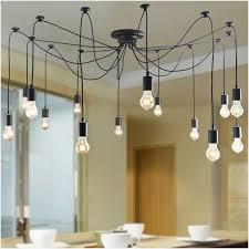 vintage spider lamp indoor hanging light multi optionally retro loft lamp industrial kitchen luminaire