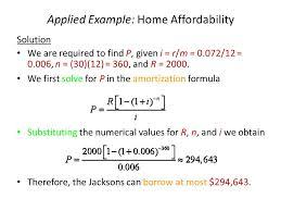 amortization formulas 4 mathematics of finance compound interest annuities ppt video