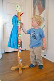 Kids Coat Rack How to Make a Building Block Coat Rack for KIds 91