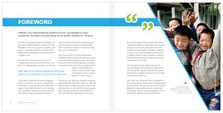 Unicef China Report Designs Sarah Semple