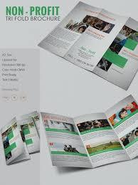Amazing Of Program Brochure Templates Non Profit Fold