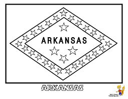 Patriotic State Flag Coloring Pages | Alabama-Hawaii | Free ...