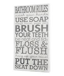 take a look at this white bathroom rules wall art by twelve timbers on zulily today  on toilet rules wall art with take a look at this white bathroom rules wall art by twelve timbers
