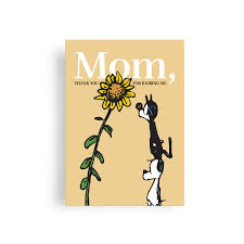 Thank You For Raising Me Mothers Day Greeting Card