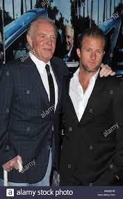 James Caan & bald Scott Caan bei der ...