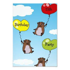 Happy Hamster Birthday! Invitation – Birthday Party Invitations