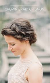 Chingon Hair Style best 25 braided chignon ideas only bridesmaid hair 2226 by wearticles.com