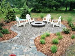 outdoor patio pea gravel fire pit ideas nice fireplaces firepits pea gravel fire pit