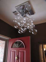 my diy modern glass ball bubble chandelier musings from an ordinary girl