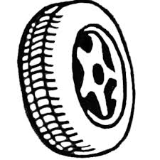 tires clipart black and white. On Tires Clipart Black And White WorldArtsMe