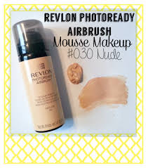 revlon photoready airbrush mousse foundation 030