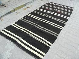 black and white striped carpet vintage black gray white striped rug red black and white striped