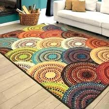inspirational circle area rug or circle pattern area rugs better homes and gardens bright dotted circles