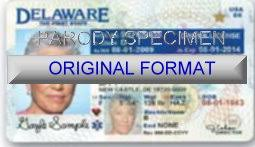 Delaware Id Or And Fake