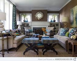 Beautiful Living Room Decor Blue And Brown 15 Interesting Combination Of  Brown And Blue Living Rooms Home