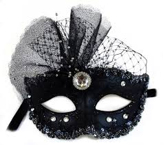 Decorating A Mask Pamela Decorated Glittered Masquerade Mask for Women 40