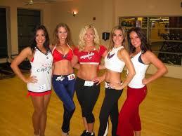 Resultado de imagem para cheerleaders washington capitals calendar