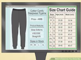 Height Weight Dress Size Chart Uk How To Determine Your Dress Size 13 Steps With Pictures