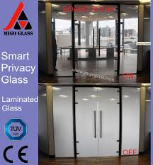 electronic power control pdlc switchable smart glass