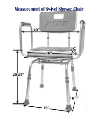 swivel shower chair 2 0 bathroom aids