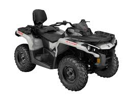 2016 can am outlander max650 grey front right