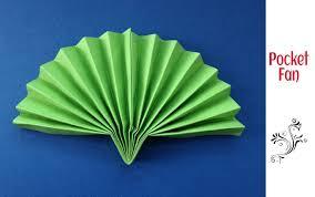 paper fan. useful origami - paper pocket folding fan very handy in summer !! youtube o
