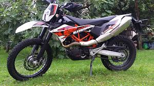 ktm 690 enduro r 2014 stock exhaust sound check so bad youtube