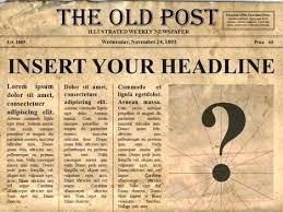 News Article Template Word Thirdbattalion Info