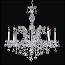 ball chandelier. maria theresa 8 light crystal ball chandelier | 561f by glow lighting l