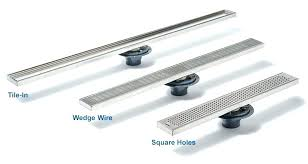 shower trough drain linear shower drains point drains s shower trench drain installation