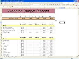 Spreadsheet For Wedding Planning Laobingkaisuo Com