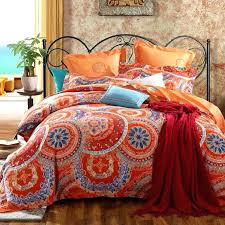 orange duvet cover queen interior burnt quilt bedding sets and covers within king size
