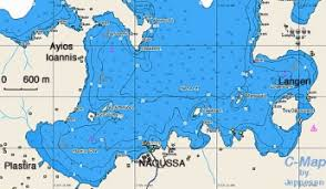 paros a cruising guide on the world cruising and sailing wiki Naoussa Greece Map chart of naoussa bay naoussa greece map