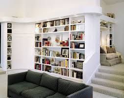 custom modern bookcases and wet bar by perfect design cabinetworks