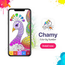 Large print coloring books for adults. Pixel Art Color By Number New Coloring Book Chamy Color By Number Is Already On The App Store Https Itunes Apple Com App Id1444418347 Mt 8 Be The First To Get It Enjoy A