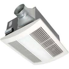 whisperwarm 110 cfm ceiling exhaust bath fan with light and heater